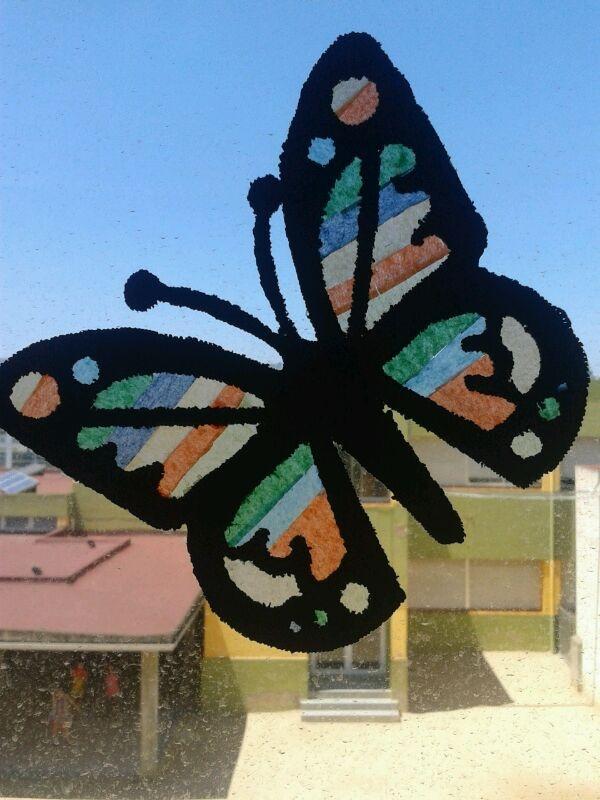 Mariposas para la ventana