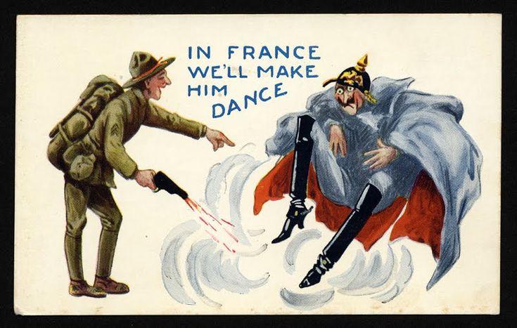 In France we'll make him dance.