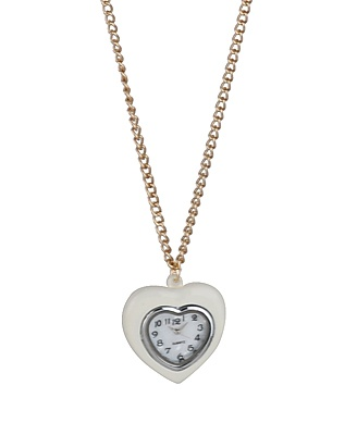 Heart Watch Necklace | FOREVER21