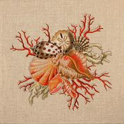 Shell Cluster #1 Needlepoint Canvas