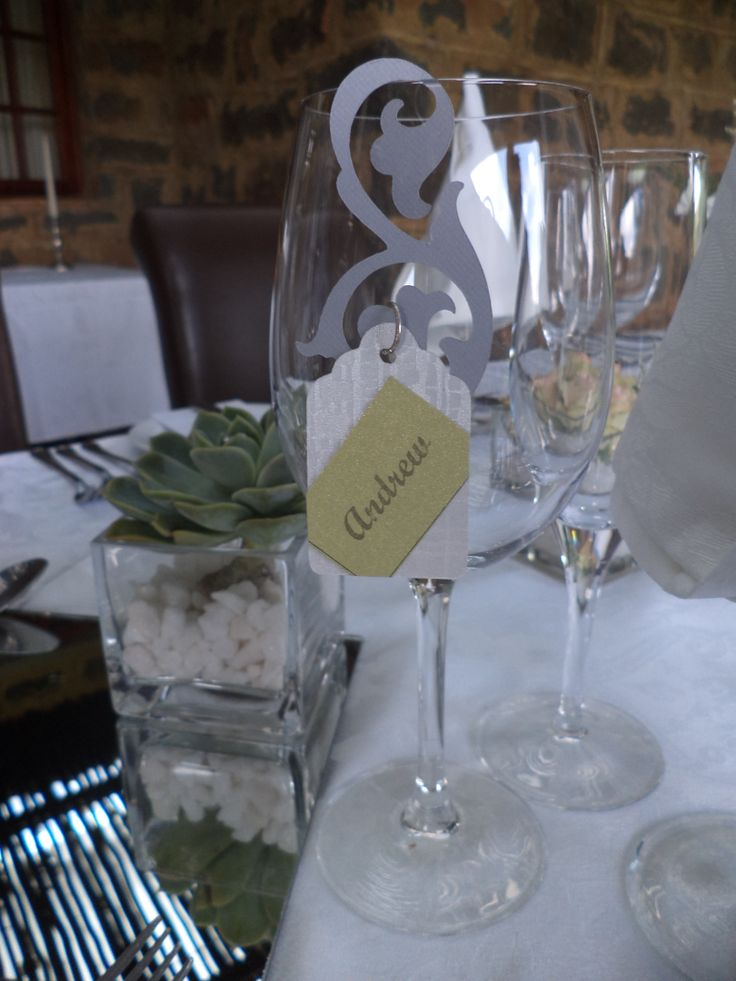 Place cards with a difference