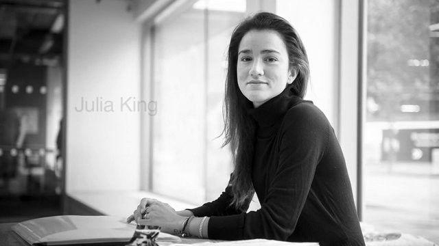 Entrevista com Julia King - a arquiteta do futuro(?)
