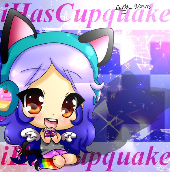iHasCupquake Fan-art~~~~~~~~ by glaceonpower on DeviantArt