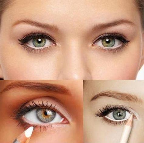 Cómo maquillar ojos pequeños - Blogmujeres.com