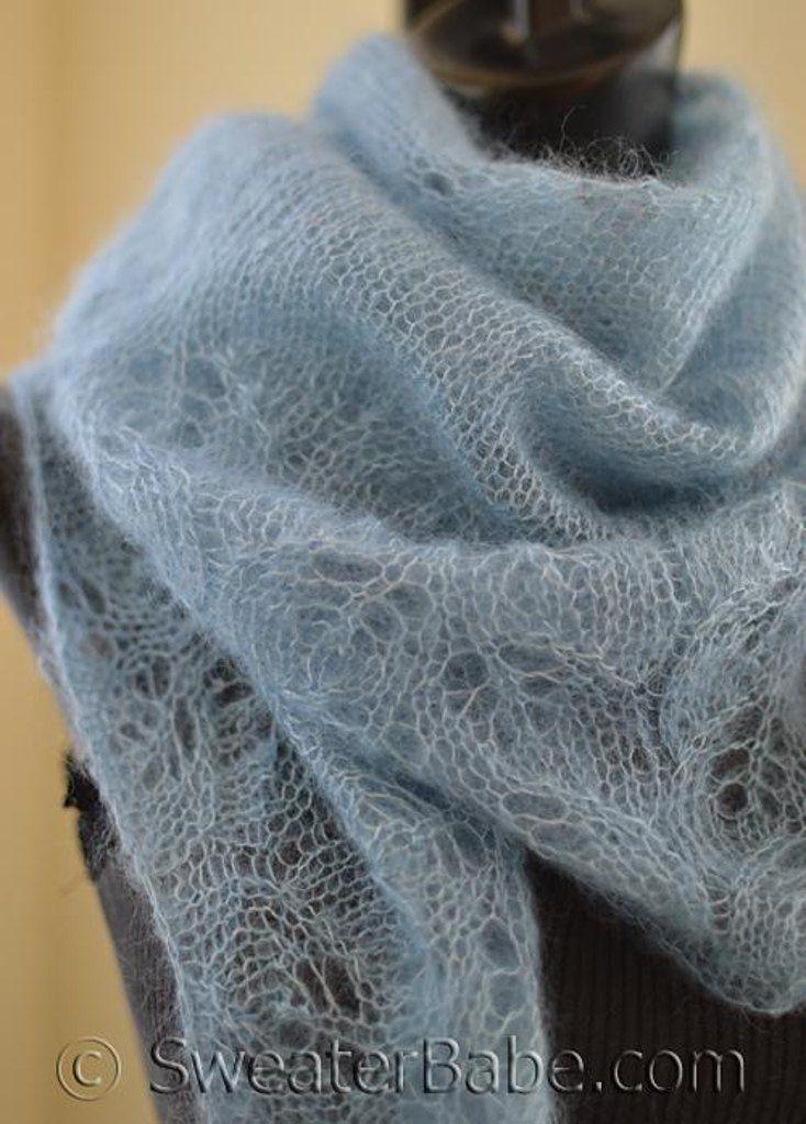 18 besten Lace Scarves Bilder auf Pinterest | Strickmuster, Kapuze ...