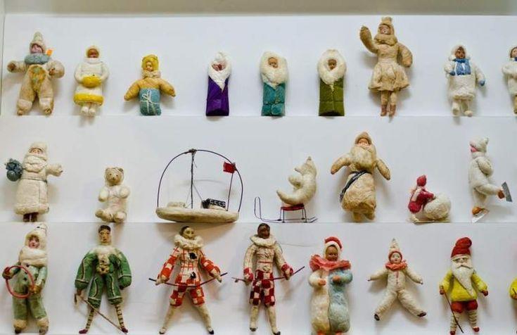 Ёлочные игрушки из бабушкиного сундука - Ярмарка Мастеров - ручная работа, handmade