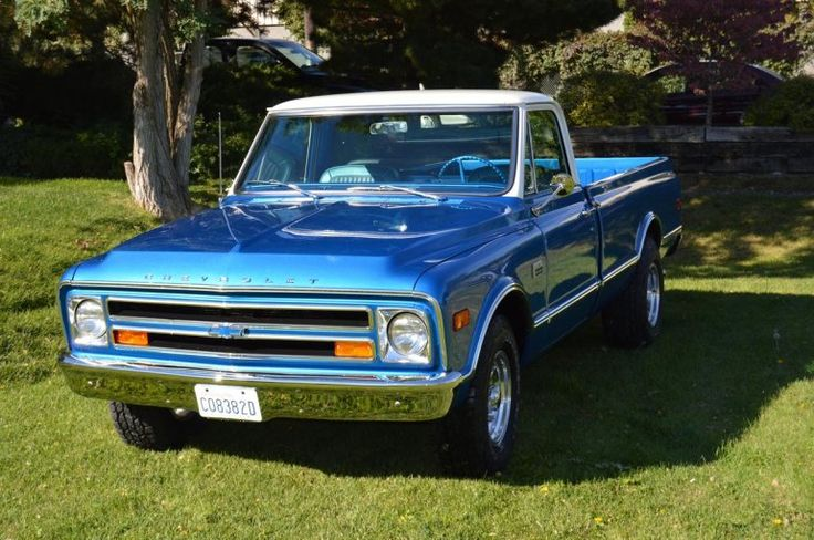 This Orange Pearl Chevrolet C Truck Is A True Classic Photo Gallery besides Chevy Pickup Truck C Spd Floor Shift V Daily Driver C further Front Web as well E Bc Ead F B E Eyes Car Photos also Chev S Twotonflatblue. on 1968 chevy c10 pick up