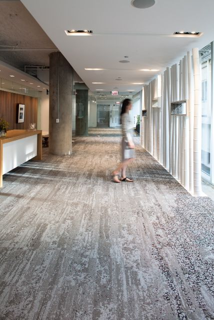 Interface Human Nature Collection Installation Layout And Images Carpet Tiles Commercial Flooring