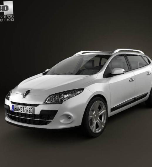 Renault Megane Estate configuration - http://autotras.com