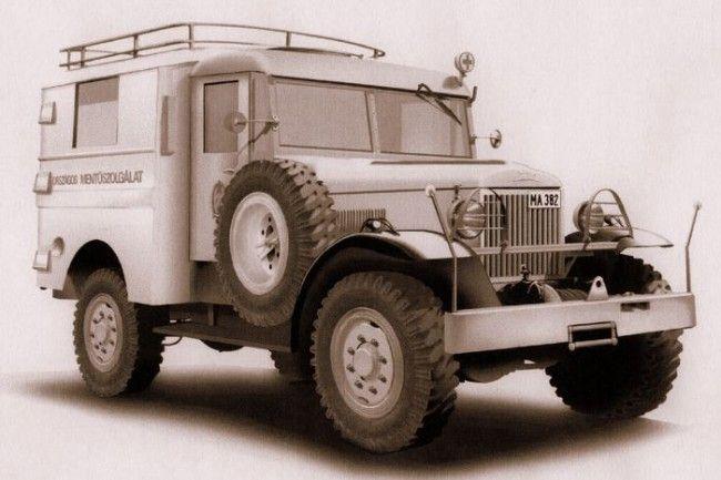 Csepel 130 (hókotrólapáttal is alkalmazták) 1952-ben a gyártás leállították az Orosz beszerzés miatt
