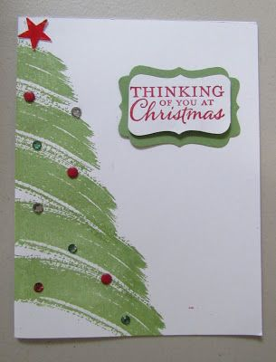 1709 best Christmas Cards - Stampinu0027 Up images on Pinterest - christmas cards sample