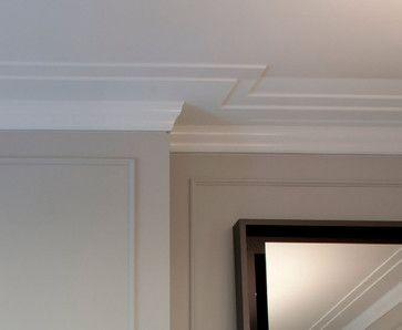 Crown Molding Detail Closeup - Reveal contemporary-