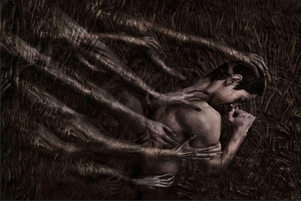 Kimberley Munro- Inner Turmoil - FINE ART - Portrait  - bronze - ONE EYELAND PHOTOGRAPHY AWARDS 2013
