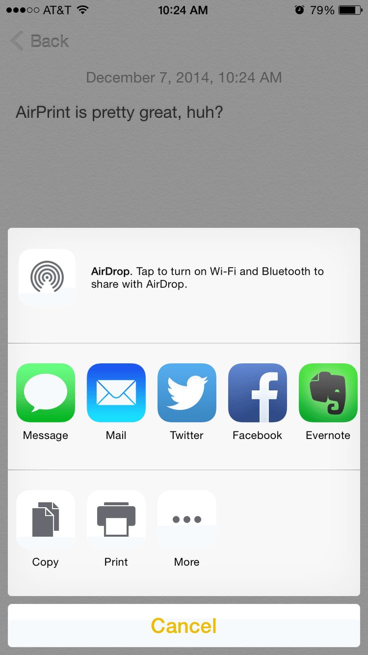 Print from Your iPhone With a Few Taps and No Wires Using AirPrint