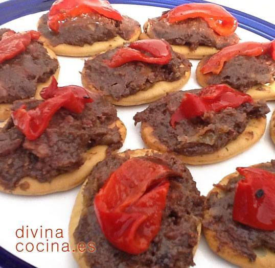 Paté de morcilla y pimientos < Divina Cocina