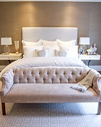 Tara Fingold | toronto interior design | beautiful monochromatic palette | calming and sophisticated room to say good night in