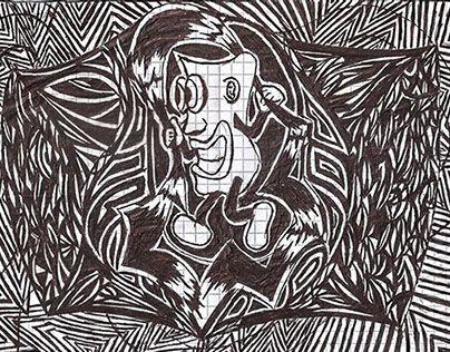 """Bocetos hechos con lápiz y/o lapicero sobre papel. @Behance portfolio: """"Bocetos Abstractos (Lapicero - Lápiz)"""" http://on.be.net/1qC0sQv"""