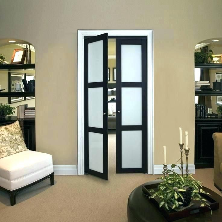 Double Closet Door Bedroom Doors With Frosted Glass Glass Bedroom Bedroom Door Ideas Home Design Ide French Doors Interior Master Bedroom Diy Bedroom Interior