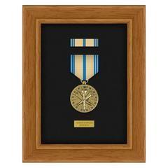 Pre-Assembled Single Medal Display Case