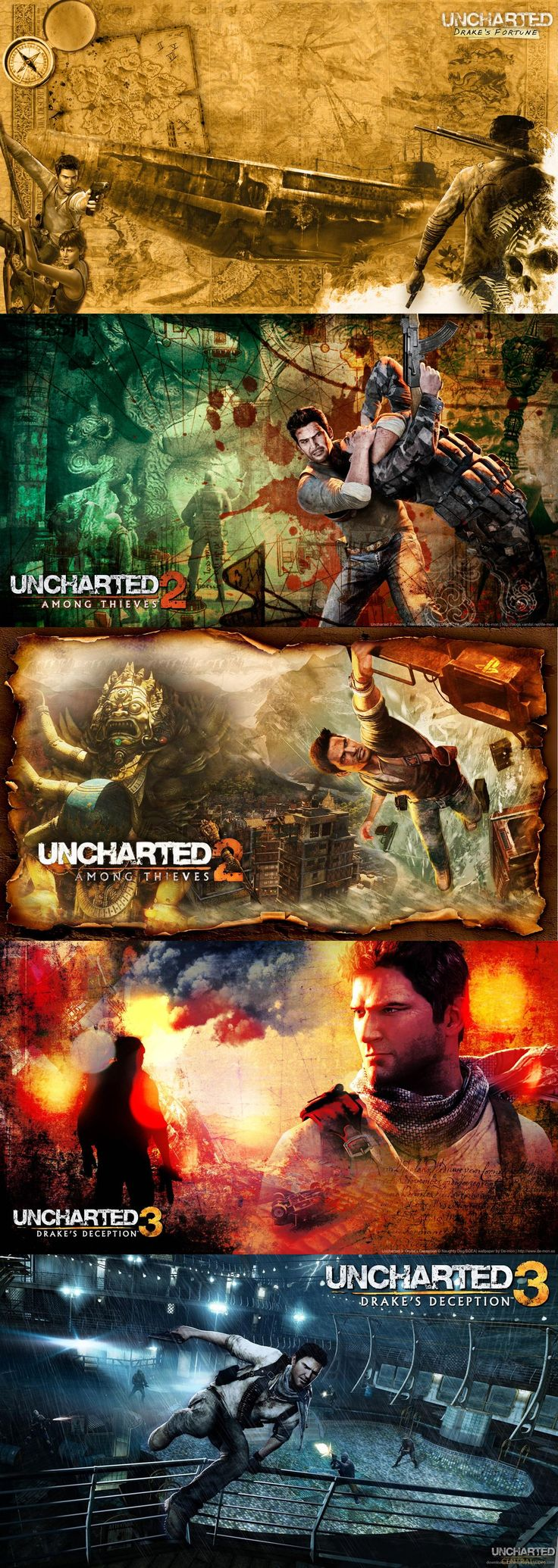 The Uncharted series.