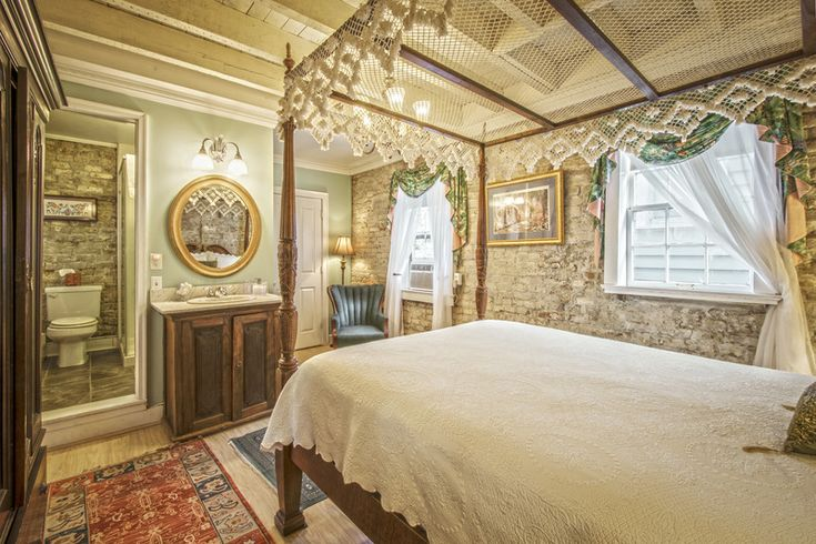 The Carriage House of our bed and breakfast in downtown Charleston SC contains three guest rooms, providing impeccable southern hospitality and accommodations.
