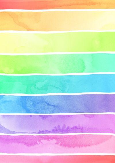 17 best ideas about rainbow wallpaper on pinterest - Rainbow background pastel ...
