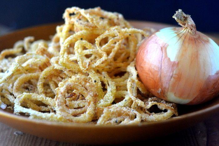 Check out Vidalia Onion Strings with Horseradish Aioli. It ...