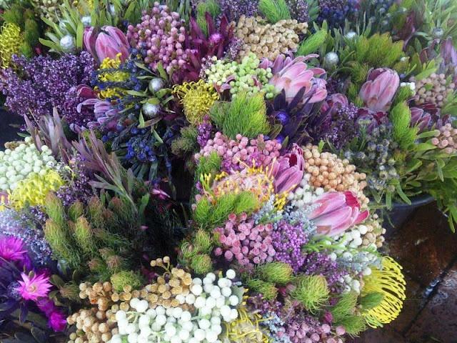 Flower Market in Cape Town.