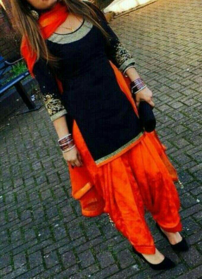 Beautiful Patiala suit.