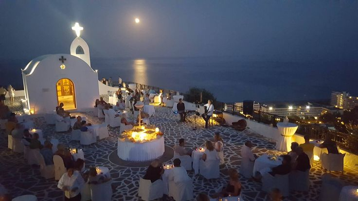 It was an amazing night! The Full Moon Party at the Chapel of St Sophia was a night to remember!