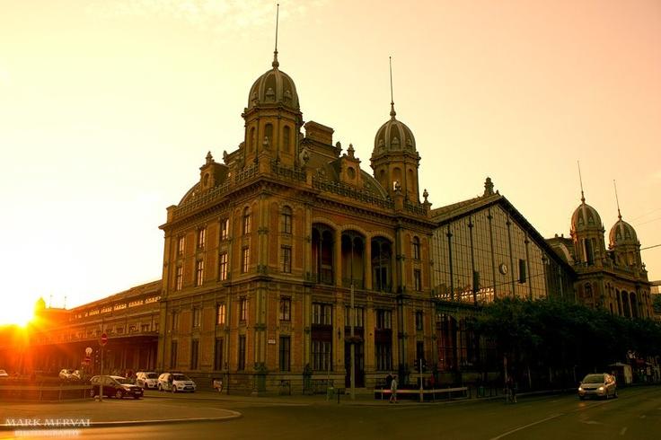 Budapest, the Western Railway Station.