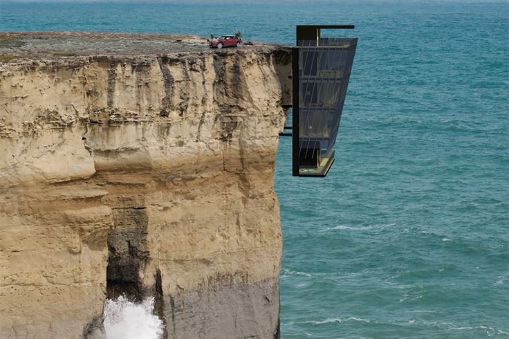 Image of The Cliff House Concept by Modscape.