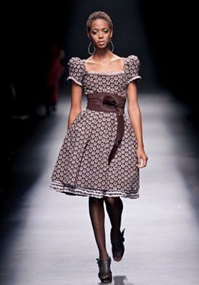 платья в стиле кантри