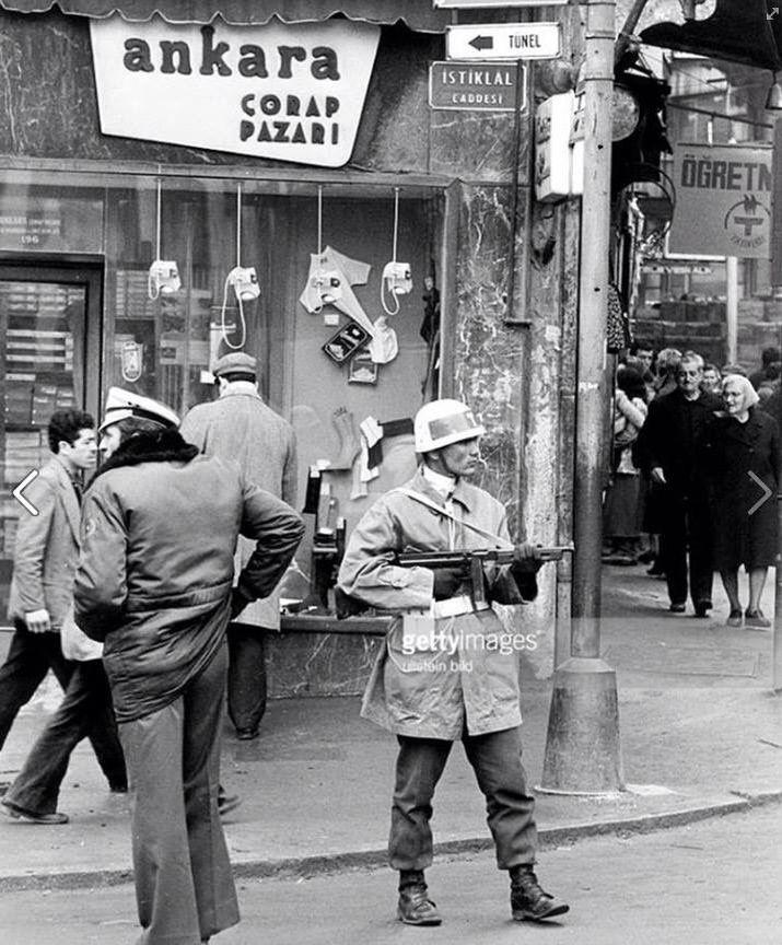 Beyoğlu - 1970'ler #istanbul