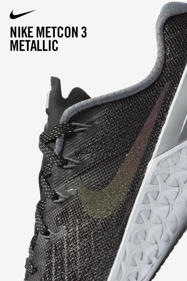 H.I.I.T. the gym in a shoe that's workout obsessed. The Nike Metcon 3 is  available