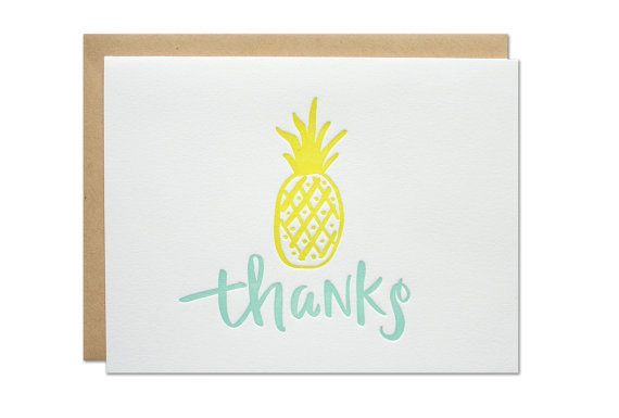 A sweet little way to send thanks. Letterpress printed with calligraphy by Sarah Parrott, head designer/printer behind Parrott Design Studio. size :: A2 {4.25 x 5.5} method :: letterpress printed in Sebago, Maine paper ::100% cotton white paper with a kraft envelope packaging :: each card is packaged in a cello bag and mailed in a no-bend mailer.