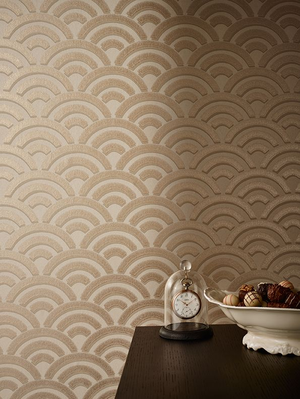 ARCADIA by SAHCO - a non-woven wallcovering with a traditional glue print.