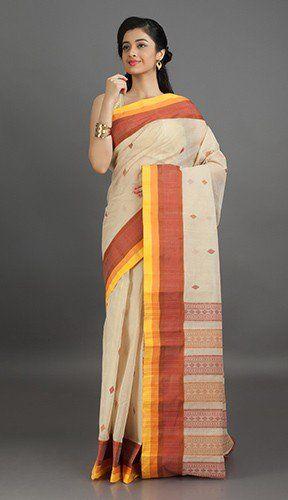 Bengal Tant Cotton Saree | Bengal Cotton Sarees Online