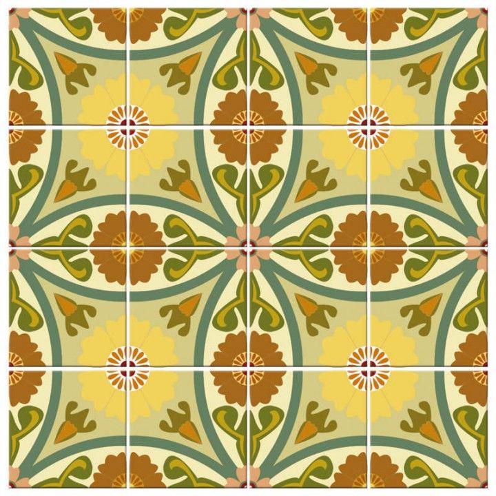 9 melhores imagens sobre adesivos de azulejos azulejos - Azulejos para exteriores ...
