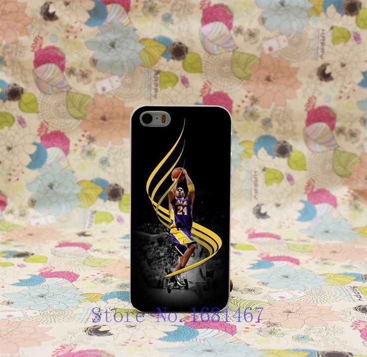 Стиль Жесткий Ясно Задняя Крышка Прозрачный Корпус для iPhone 7 7 Плюс 5 5S 5 г 211U-Kobe Brynt