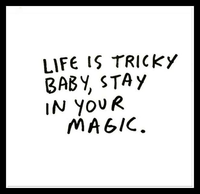 Μείνε στη μαγεία σου...