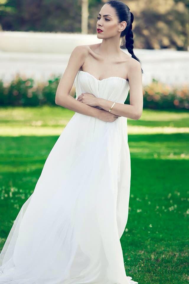 Dress by Vassilis Thom Photographer: Konstantinos Pafilas   Blogger/Model: Konstantina Tzagaraki from Serial Klother