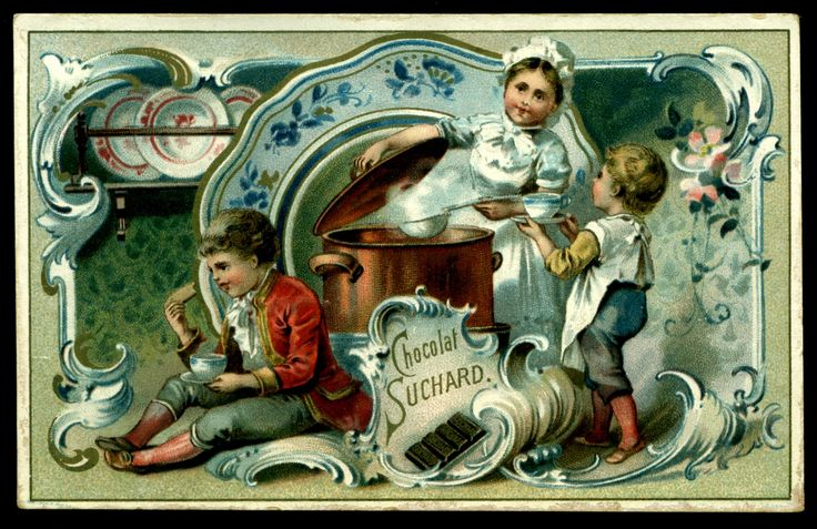 Suchard - Children & Kitchen Scenes #2 | by cigcardpix