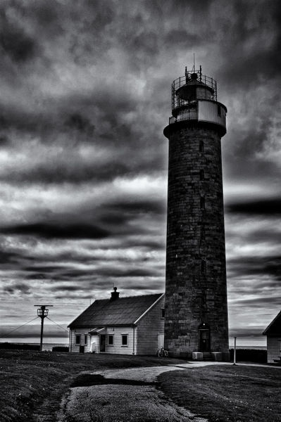 'Lista Lighthouse' by studio-toffa on artflakes.com as poster or art print $18.03