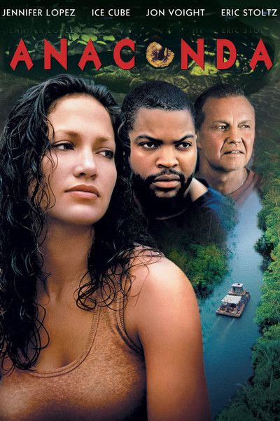 A monstrous snake terrorizes filmmakers on the Amazon River in this blockbuster hit starring Jon Voight, Jennifer Lopez, Ice Cube and Eric Stoltz. Description from amazon.com. I searched for this on bing.com/images