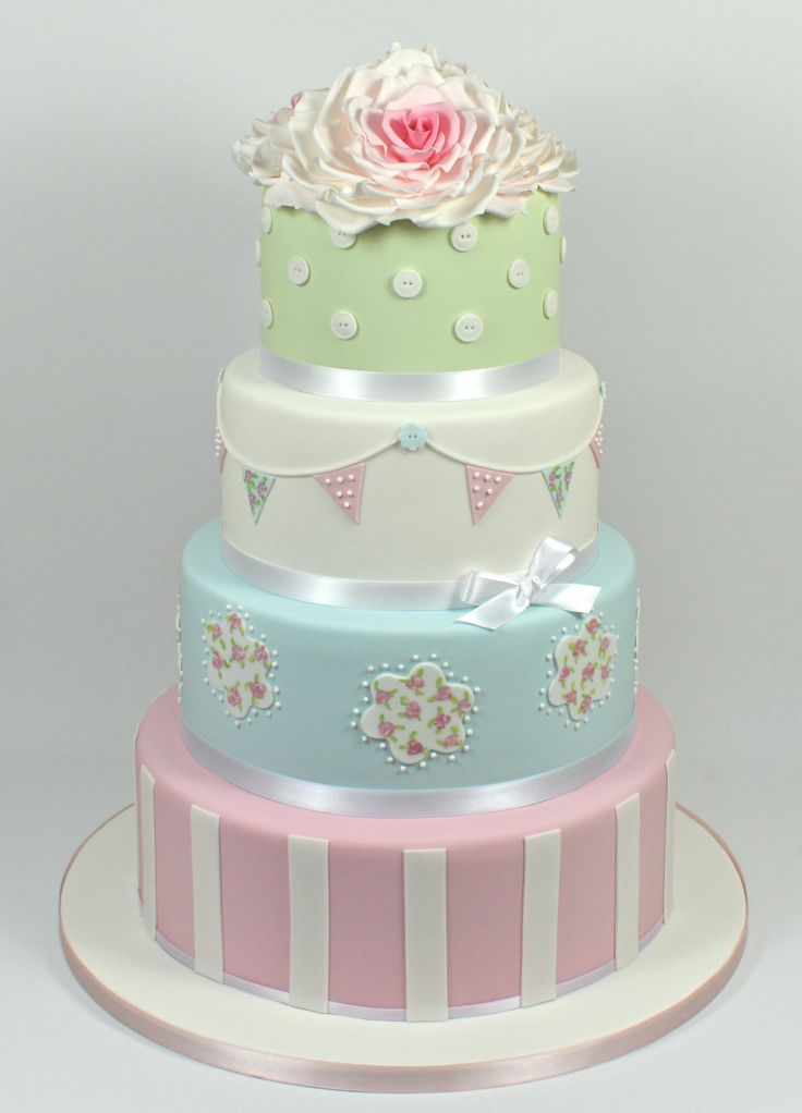 Inspired by Cath Kidston Wedding Cake