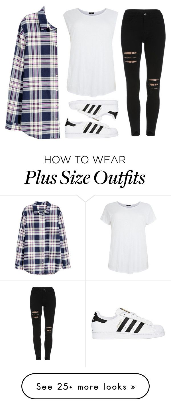 """temporary highs"" by kaylaax3 on Polyvore featuring H&M and adidas Originals"