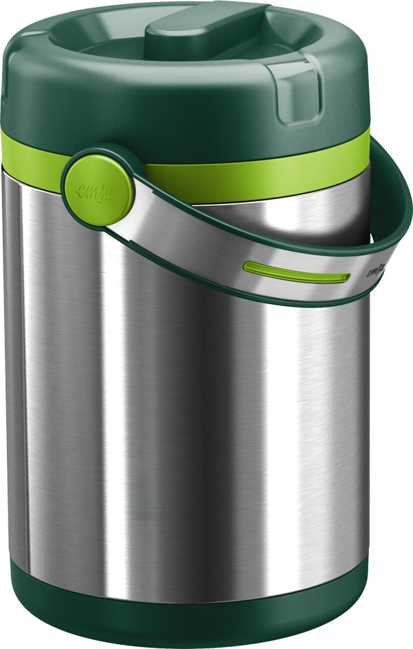 Termos obiadowy Mobility 1,7L (zielony) - EMSA - DECO Salon #thermos #dinnerware #forwork #journey