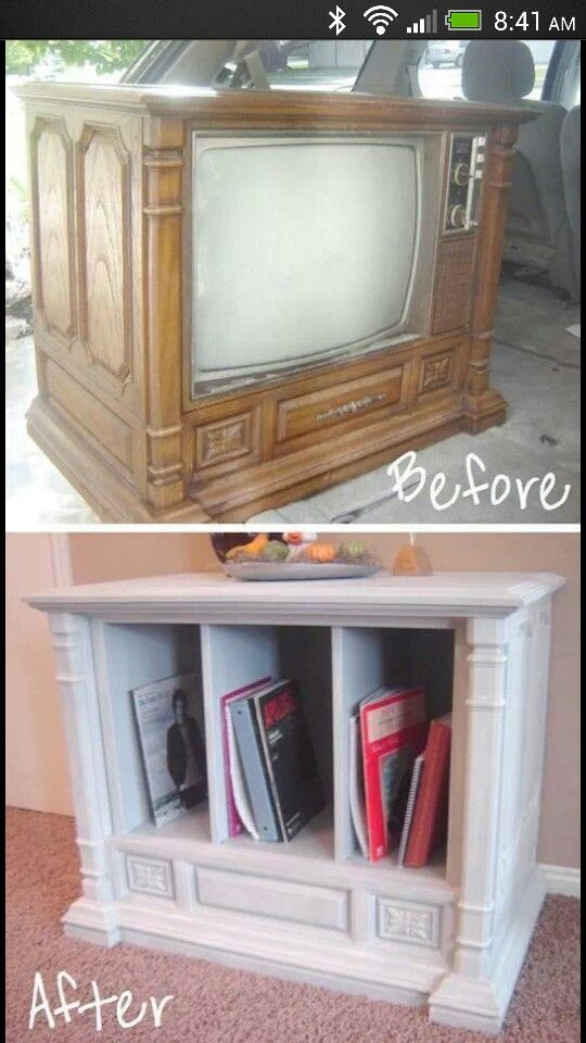 Fantastic way to reuse those old, obsolete televisions!