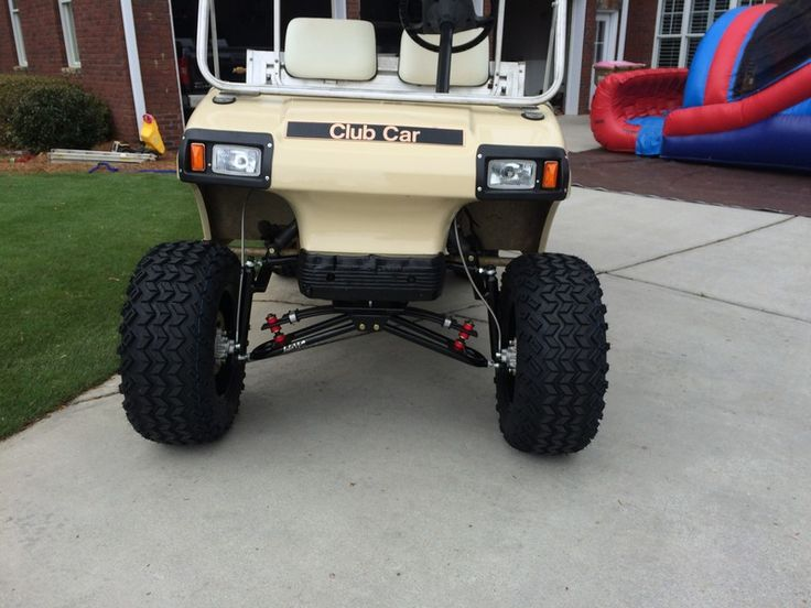 Club Car Carryall Ii Ds Lifted And Upgraded Golf Cart